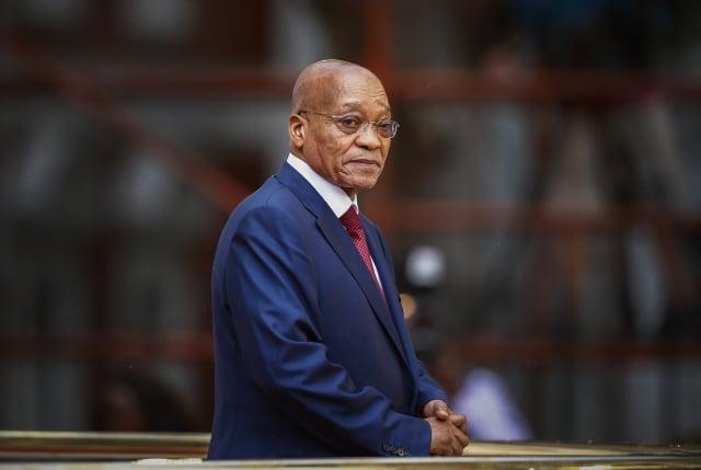 南非執政黨13日長達13小時的閉門會議,決議罷免醜聞纏身的總統朱瑪。(AFP)