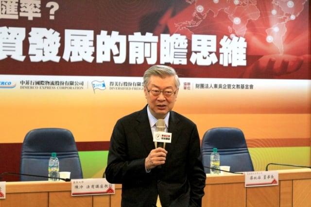 東吳大學法商講座教授陳冲