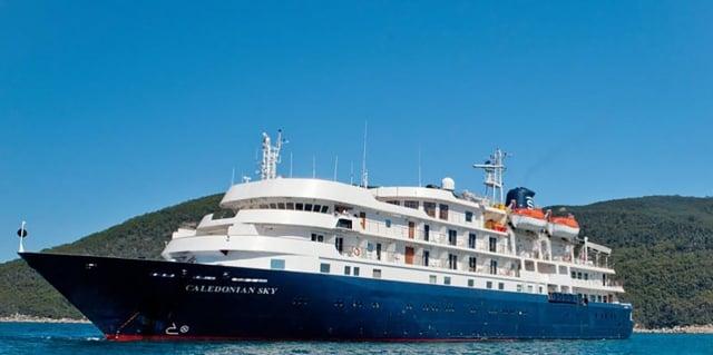航港局透露,英國頂級郵輪卡麗多莉預計本週來台,並依序停靠台灣7個港口,這是首度有郵輪在台灣進行跳島旅遊。(中央社)