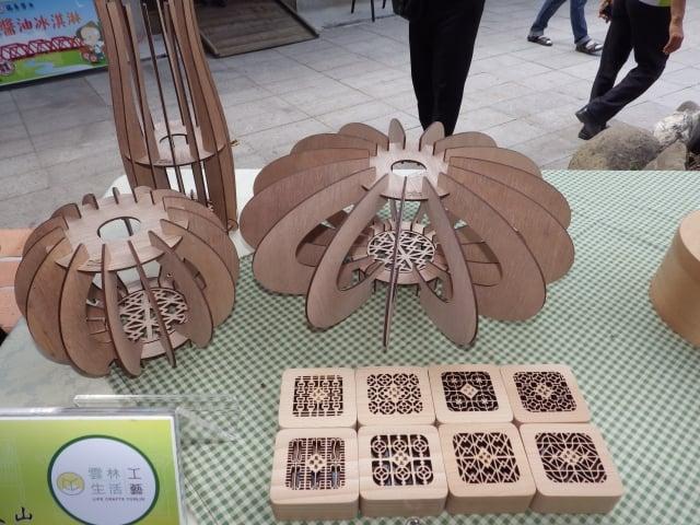 土庫智造工場參展的文創作品。