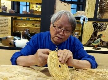 傳承竹籐編織 張憲平純粹手藝傳遞溫暖