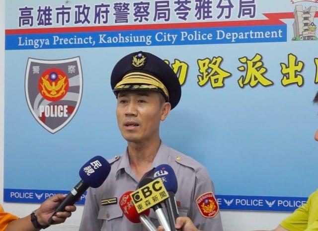 高市警苓雅分局成功派出所副所長丁木宏表示,珠寶商遺失項鍊沒有發現,直到警方通知他,才驚覺遺失。