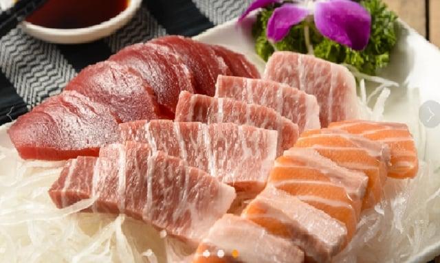 頂級黑鮪魚肉質鮮美。