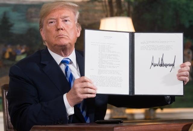 終結綏靖 川普施壓伊朗談判