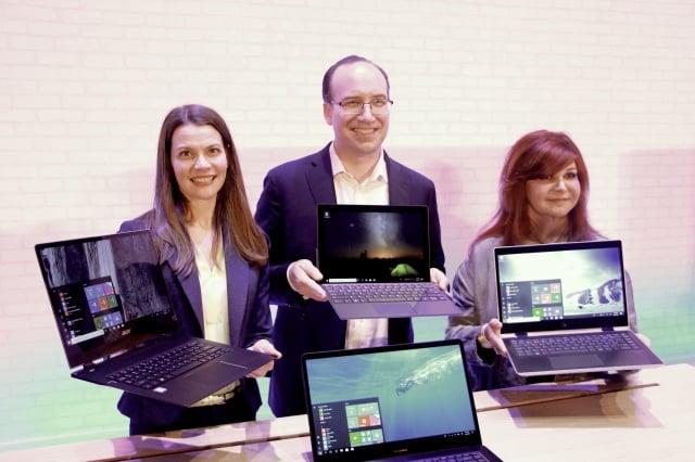 微軟期盼透過數位方式連結全球,提升產業的成長動能與商機。(記者陳懿勝/攝影)