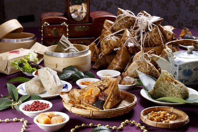 端午節具特色的粽子紛紛出籠。(Fotolia)