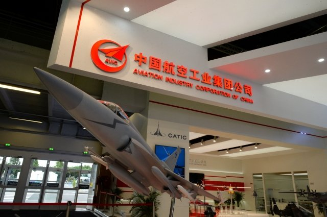 AVIC被美媒披露正在試圖購買美國重要飛機製造商的股票。這家陸企與中共的軍事計畫有關,過去曾有間諜歷史。(ERIC PIERMONT/AFP/Getty Images)