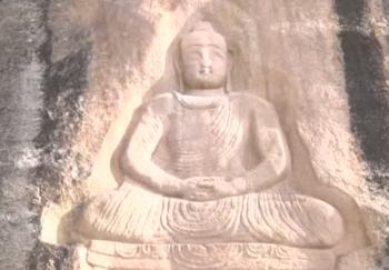 7世紀佛像被毀 德義修復重現微笑