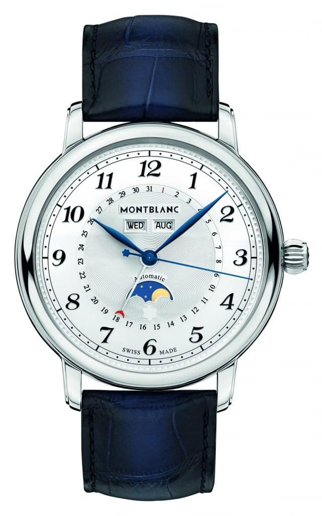 萬寶龍Star_Legacy系列全日曆腕錶,NT$147,000。(萬寶龍提供)