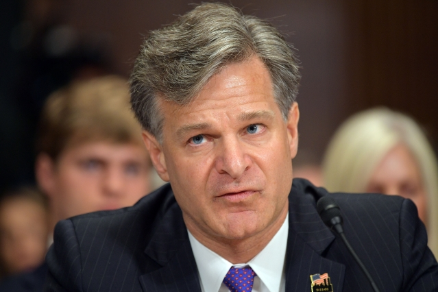 FBI局長:中共威脅更甚俄羅斯
