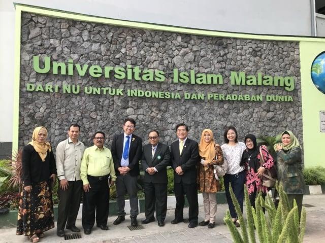 屏東大學與印尼伊斯蘭學校簽MOU(屏東大學提供)