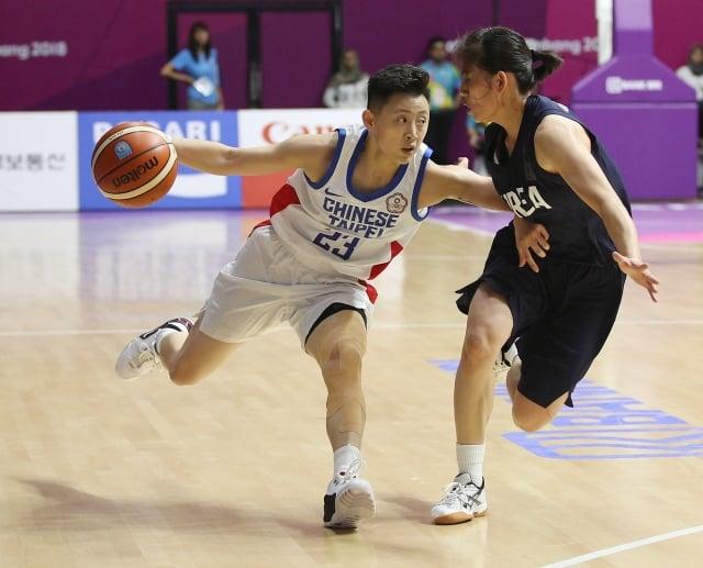 中華女籃贏韓國 奪亞運2連勝