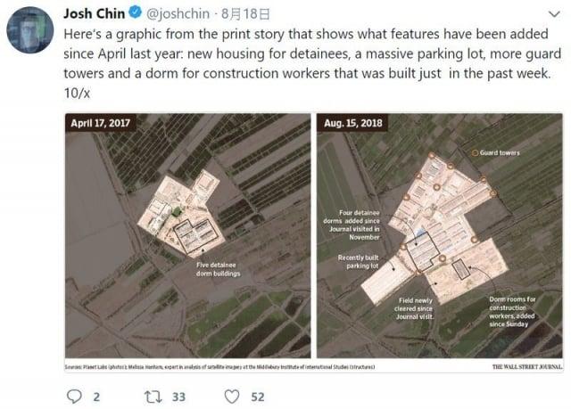 衛星照揭中共惡行 新疆再教育營慘況曝光