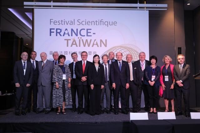 科技部舉行「台灣法國科技學術慶典」,分享歷年雙邊學術活動的貢獻。(科技部提供)