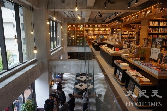 茑屋书店台中店。(谢平平/大纪元)