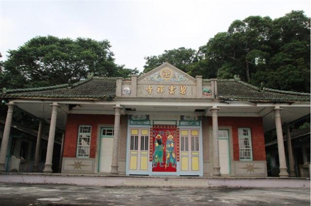 歷史悠久的彰化碧雲禪寺,被認定保護的歷史建築。(彰化縣文化局提供)