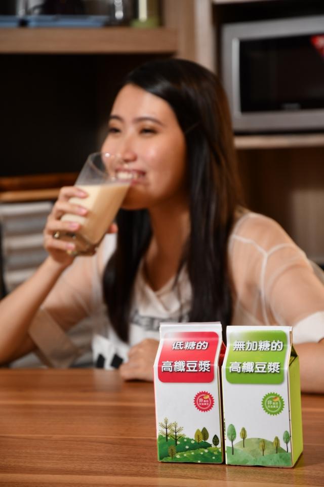 高纖豆漿是運動後修復身體機能、避免減重撞牆期導致復胖的良好選擇。