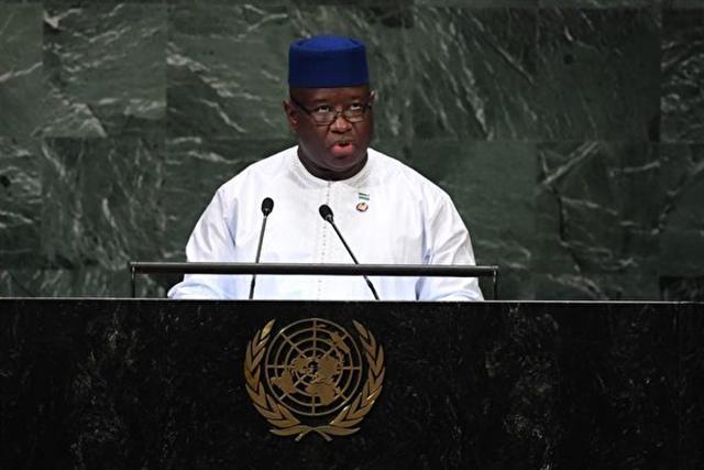 近日獅子山共和國取消了價值4億美元、在首都弗里敦(Freetown)外建新機場的中資項目。(TIMOTHY A. CLARY/AFP)