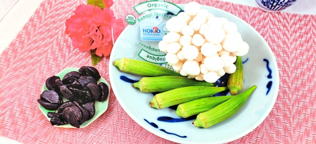 黑蒜中的微量元素含量較高,具有抗氧化、抗酸化的功效。(梁志生提供)