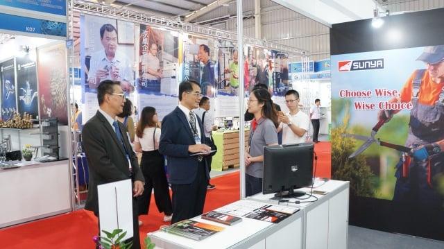 「2018台灣五金展」彰化縣產業行銷參展活動。(彰化縣政府提供)