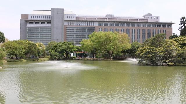 波光瀲灩中興湖,中興人創意與夢想之湖。(莊宜真/攝影)