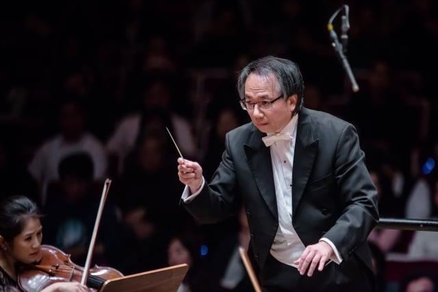 NSO國家交響樂團音樂總監呂紹嘉。(國家交響樂團提供)
