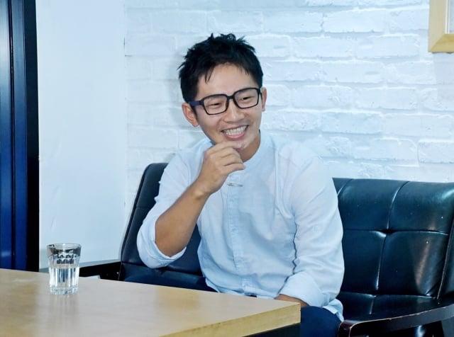 10年的演藝工作,蔡昌憲說要感謝的人太多了。(記者黃宗茂/攝影)