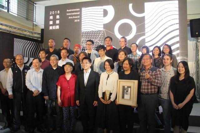 2018南島國際美術獎揭曉,10組受邀進駐的藝術家作品在台東美術館展出至12月9日。(台東縣政府提供)