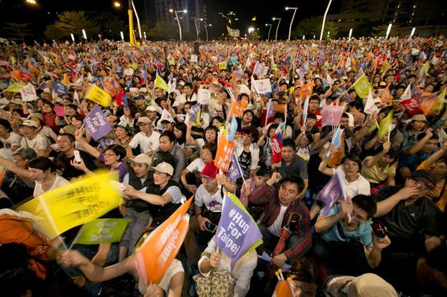 圖為台灣九合一大選一景。資料圖。(Getty Images)