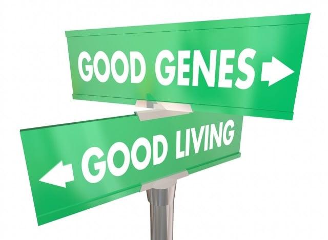 美國加州大學一份研究顯示,基因對壽命的影響可能還不到7%,而財富、受教育程度、個人生活習慣等可能影響更大。(ShutterStock)