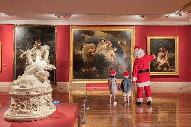 聖誕老人陪你看奇美博物館30件「必看典藏」。