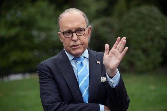 白宮首席經濟顧問柯德洛表示,川習會後事情會進展得「非常快」,北京已同意降低對進口汽車的關稅。(Getty Images)