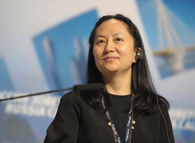 中國華為公司副董事長兼首席財務官(CFO)孟晚舟(Wanzhou Meng),近日被加拿大逮捕,其因涉嫌違反美國對伊朗的貿易制裁,有可能被引渡到美國。圖為資料照。(大紀元資料室)