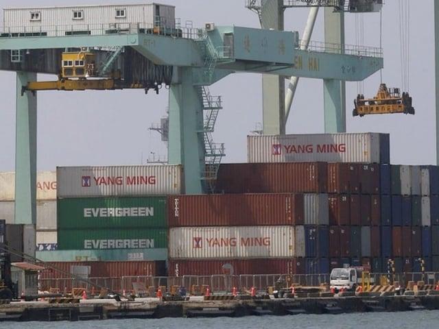 11月出口278.1億美元,較去年同期減3.4%,終止連24個月正成長。(中央社)