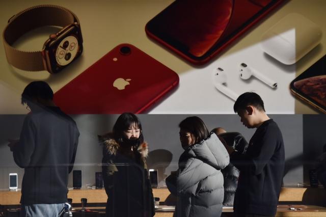 中國福州中級人民法院已已就高通和蘋的專利權訴訟戰做出裁決,禁止蘋果在中國銷售部分iPhone機種。(Getty Images)