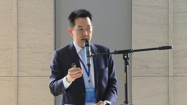 麥肯錫全球董事暨台北分公司總經理章錦華。(記者賴玟茹/攝影)