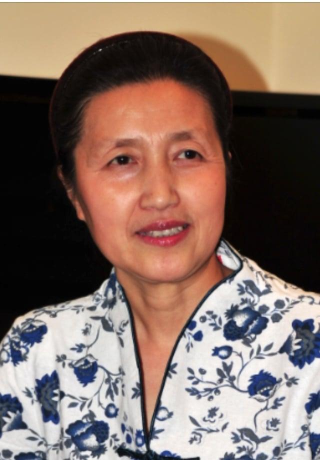 原黑龍江密山市政協委員、法輪功學員王俊華。(記者陳璐/攝影)