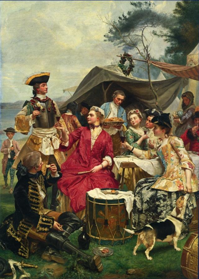 居斯塔夫·讓·雅凱,《歡迎》(Welcome),布面油畫,180 × 128 cm。(藝術復興中心提供)