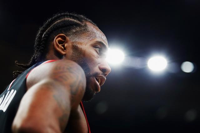 雷納德,圖為資料照。(Getty Images)