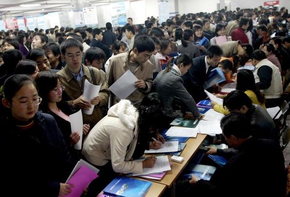 花旗2019年的經濟展望報告指出,中國的就業市場確實令人擔憂。(Getty Images)