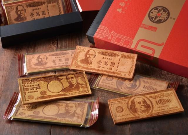 【季之鮮】嘉冠喜鈔票煎餅6片入禮盒。(momo購物網提供)