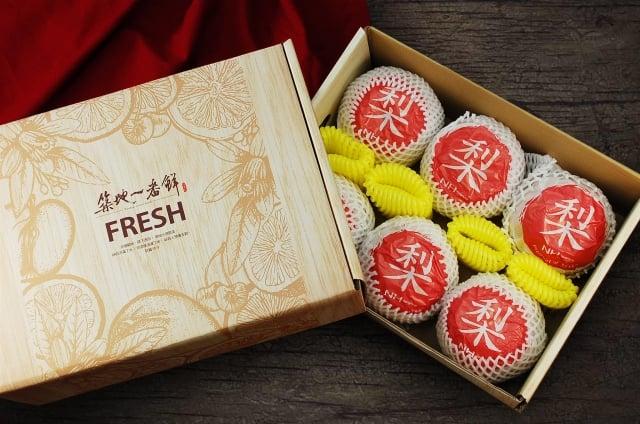 韓國新高梨禮盒。(PChome商店街提供)