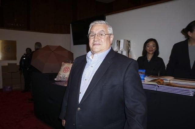 牧師Julio Rodert Roldan。(記者林南宇/攝影)