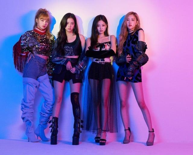 韓國人氣女團BLACKPINK,圖為資料照。(MyMusic提供)