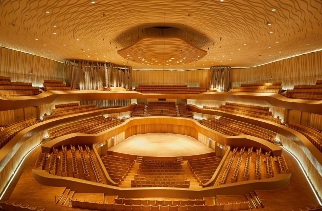 高雄衛武營國家藝術文化中心音樂廳,擁有亞洲最大9,085支音管管風琴。(衛武營提供)