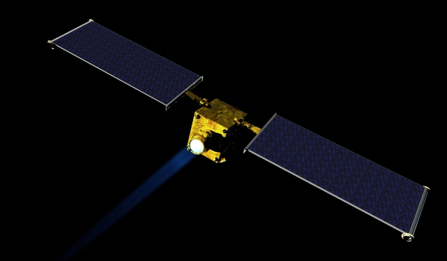 NASA將發射太空船撞擊小行星,以測試這種解決小行星撞擊地球威脅的方法是否可行。(NASA)