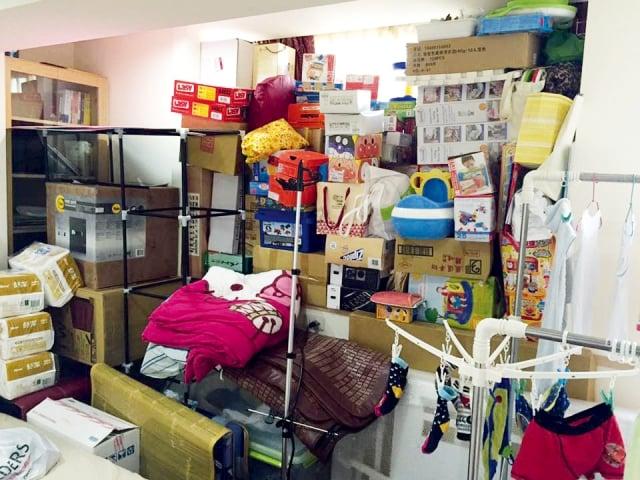 居家整理師的之琳認為,家裡雜亂是因為家裡的東西太多。(日日學文創提供)