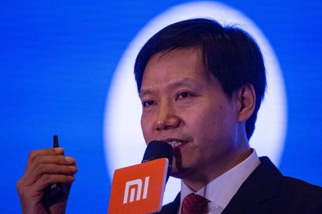 中國智慧型手機製造商小米公司董事長兼執行長雷軍。圖為資料照。(AFP)