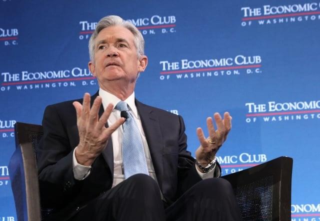 聯準會主席鮑爾(Jerome Powell)重申,聯準會對於是否進一步升息保持耐心。(Win McNamee/Getty Images)