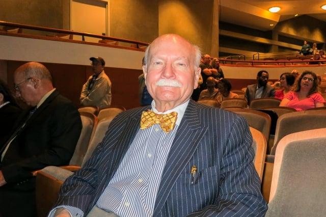 首席法官Bill Stubblefield。(記者林南宇/攝影)